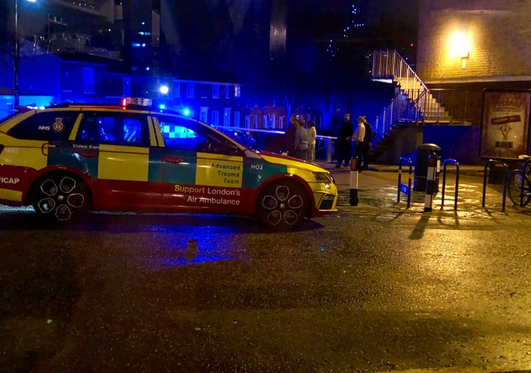 Serious incident unfolding in Greenwich