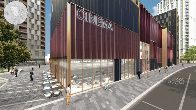 Further details of new Lewisham cinema and housing plans emerge