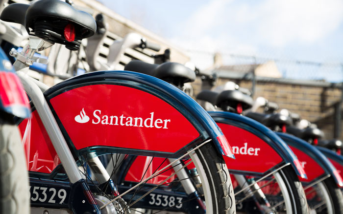 Free Santander Cycle hire over festive period