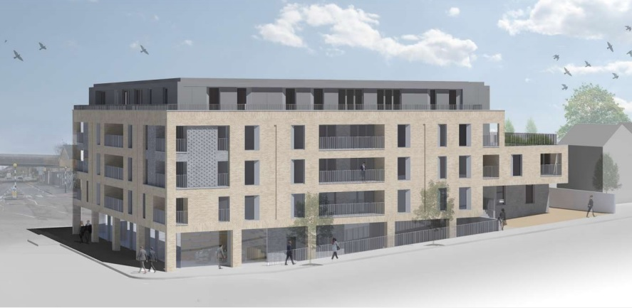 Abbey Wood Post Office redevelopment plan submitted