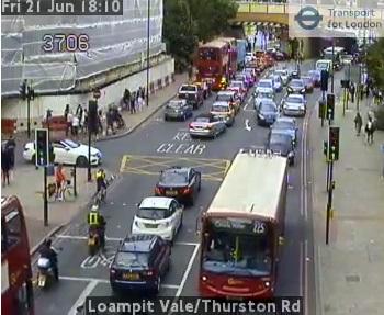 Emergency roadworks cause Lewisham gridlock