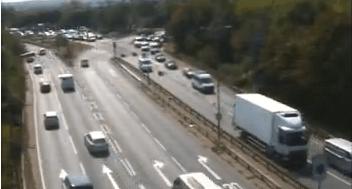 Queues on A2 towards Blackwall Tunnel as lorry blocks traffic