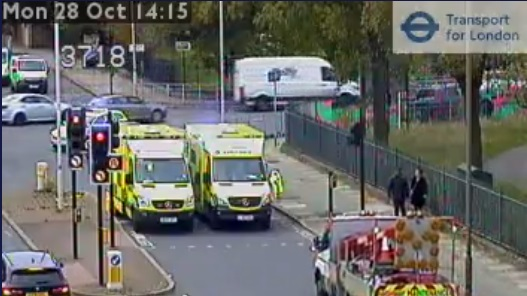 Accident in Eltham causing major disruption