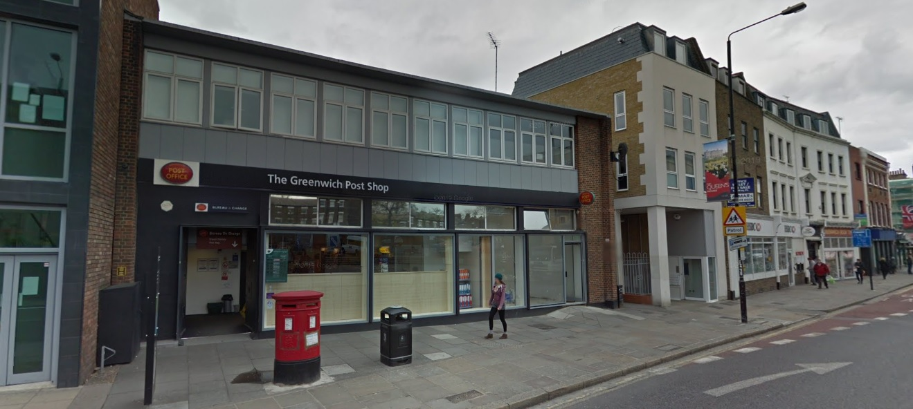 Stabbing near Greenwich post office and station