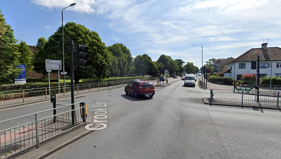 Serious accident in Bexleyheath closes Crook Log junction