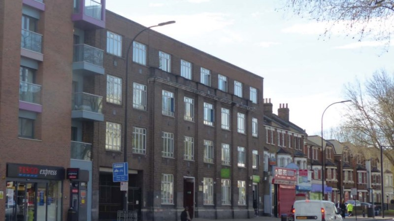 Catford Jobcentre coming down to make way for 45 new flats