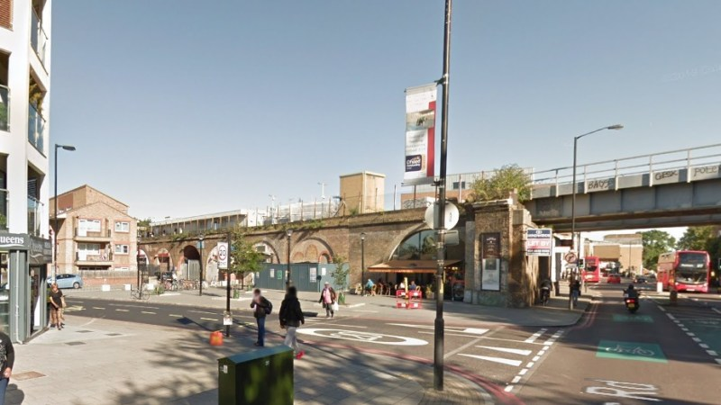 Armed trespasser boards Peckham train: Tasered by police