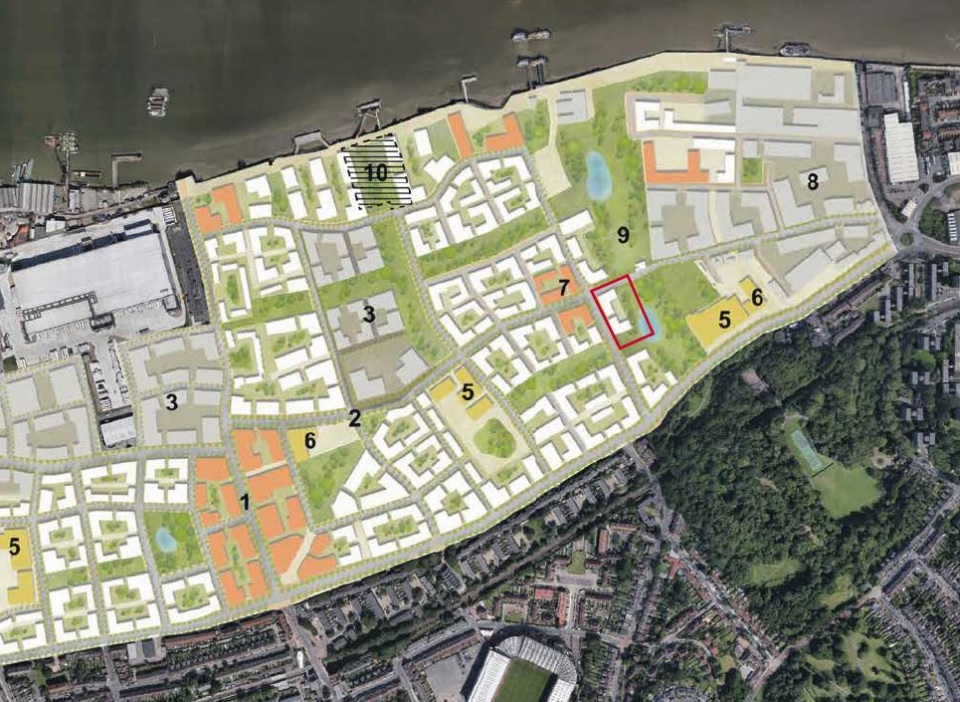 250 more homes planned at another Charlton Riverside masterplan site