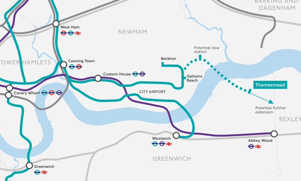 DLR to Thamesmead: 2030 for earliest opening