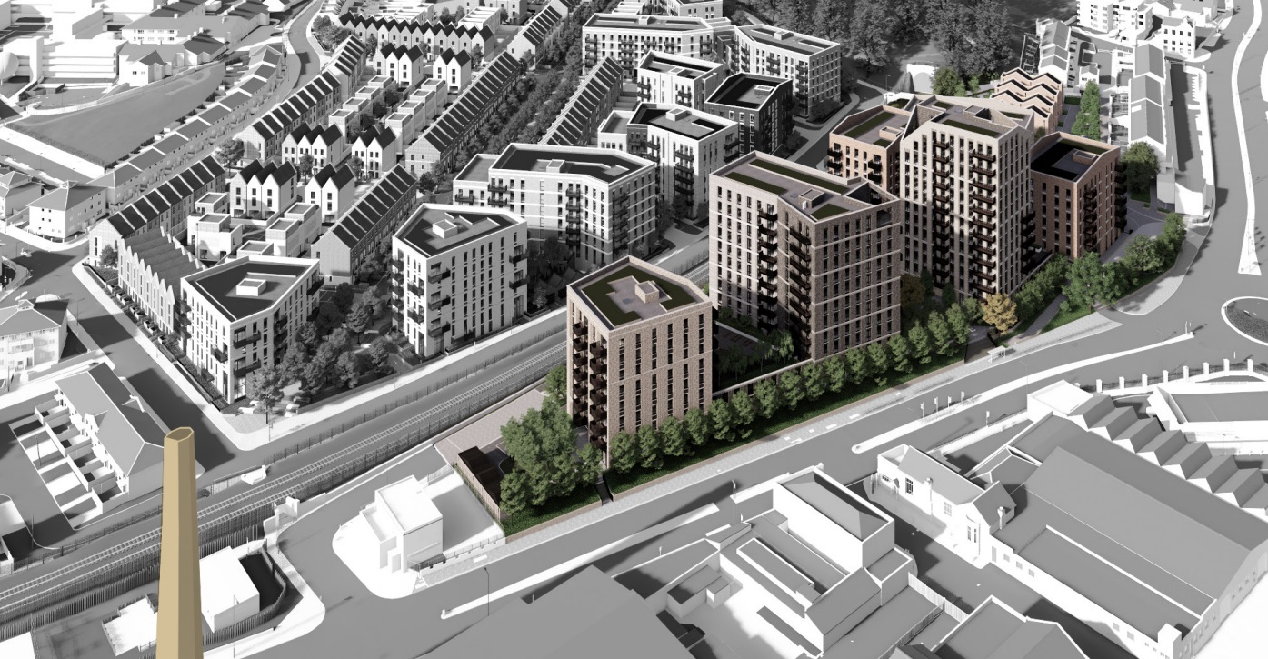 Woolwich estate redevelopment at Morris Walk submitted
