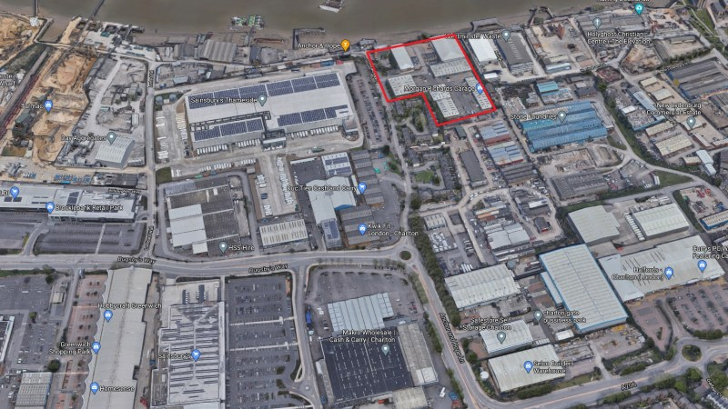 Greenwich Council set to sell industrial estate at Charlton Riverside