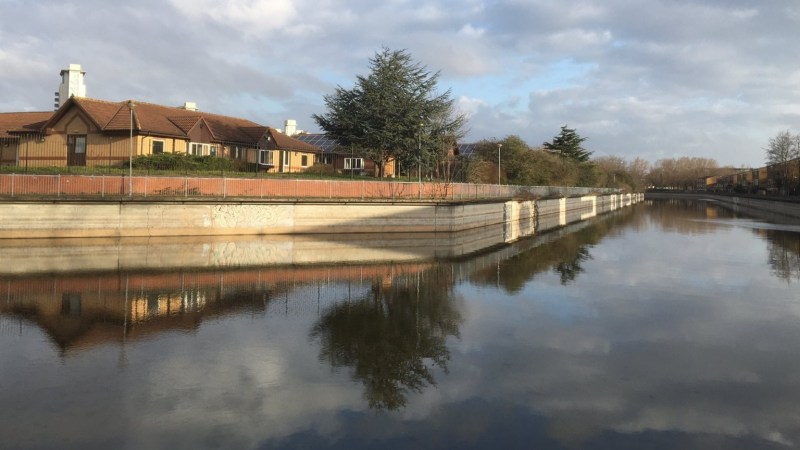 Peabody still intent of filling in former Royal Arsenal canal in Thamesmead