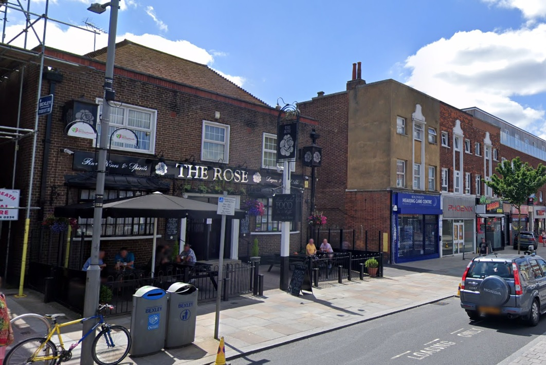 Bexleyheath pub The Rose up for sale