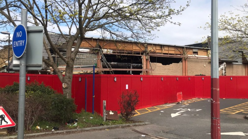 Demolition begins for new Woolwich leisure centre