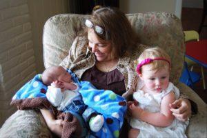 celia and babies