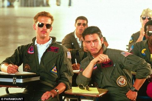 top gun - cruise e edward