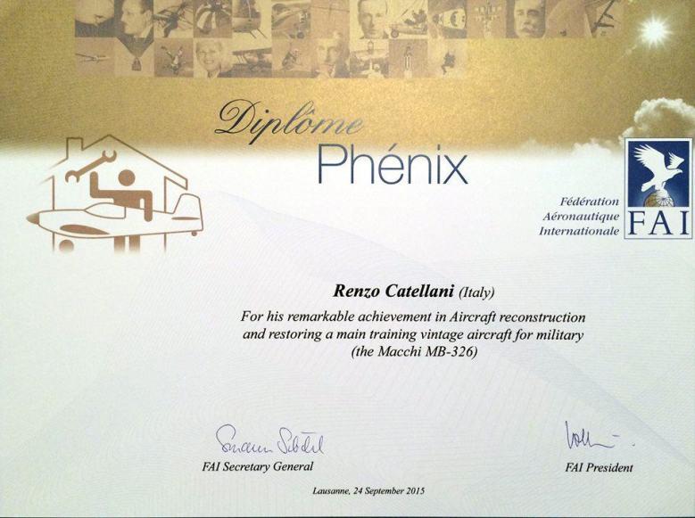 Renzo Catellani - Phoenix Diploma 2015 - 2