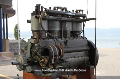 Motore Wright esposto al MUSAM