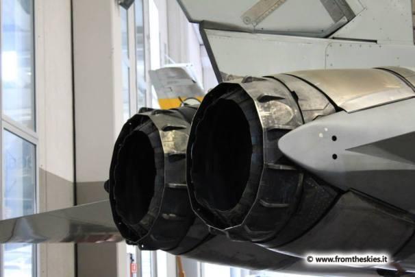 museo storico aeronautica militare - vigna di valle - tornado