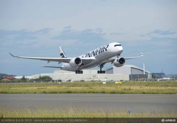 A350 XWB FINNAIR FIRST FLIGHT