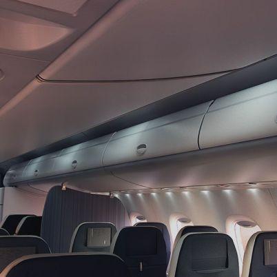 Mitsubishi MRJ cabina