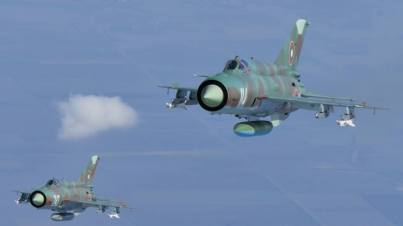 Bulgarian Air Force - MiG-21 Fishbed (2)