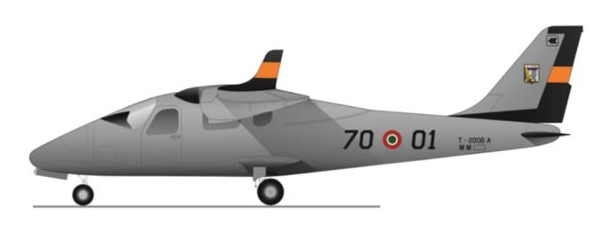 tecnam p2006t - aeronautica militare 2