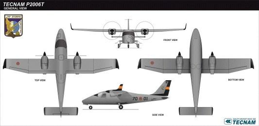 tecnam p2006t - aeronautica militare