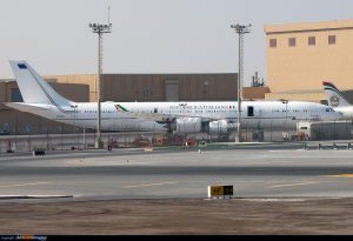 Airbus A340-500 A6-EHA