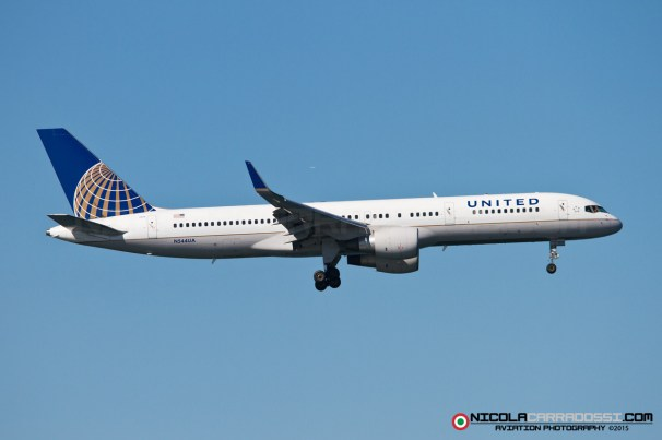 Fleet Week 2015 - 747 United Airlines