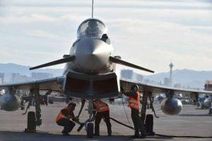 Eurofighter 4° Stormo Aeronautica Militare - Red Flag 2016 - 6