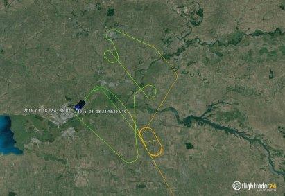 Incidente FlyDubai FZ981 - Traccia