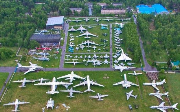 Museo Centrale delle Forze Aerre Russe di Monino