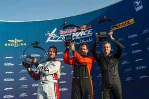 Red Bull Air Race 2016 - Abu Dhabi - Podio Ivanoff, Dolderer, Le Vot