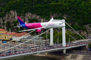 The Great Race 2016 - Budapest - A321 WizzAir