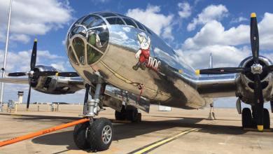 """Photo of B-29 """"Doc"""" torna a volare dopo 60 anni"""