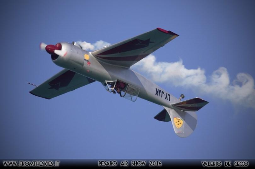 YAK50 - Pesaro Air Show 2016