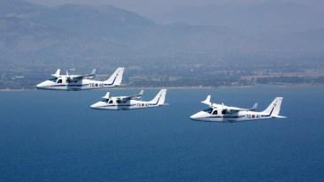 Tecnam T2006A - Aeronautica Militare - Volo in formazine