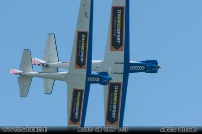 Blue Voltige - Aeronautica Militare - Jesolo Air Show 2016