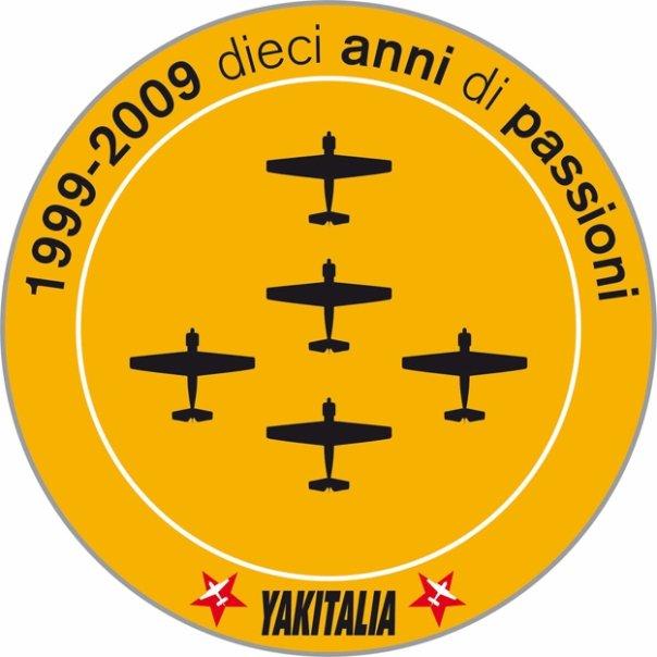 yakitalia logo 10 anni di passione
