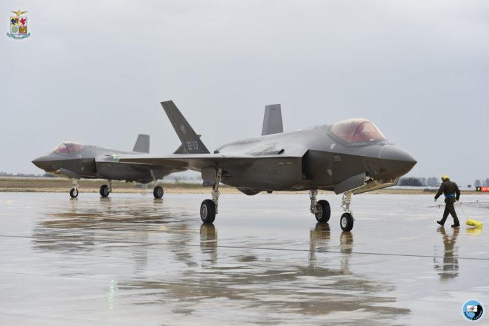 F-35A - 32 Stormo - Amendola - Aeronautica Militare -2