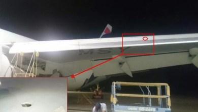 Photo of Boeing 767 della LATAM colpito da un proiettile