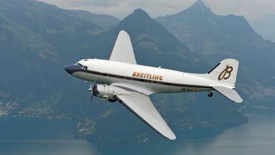 Photo of Il Breitling DC-3 inizia il giro del mondo