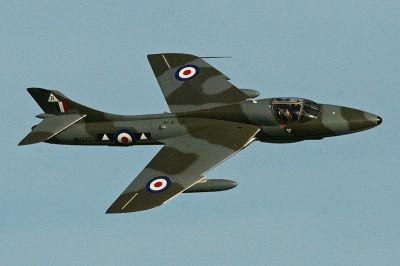 Hawker Hunter T7 G-BXFI - by Alan Wilson