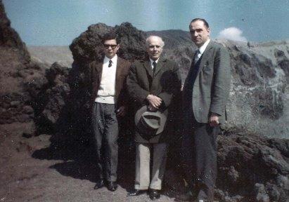 Luigi Pascale e Umberto Nobile - 1963