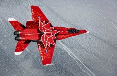 RCAF CF18 Demo Team - Special Color - 4