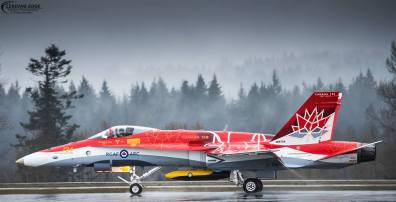 RCAF CF18 Demo Team - Special Color