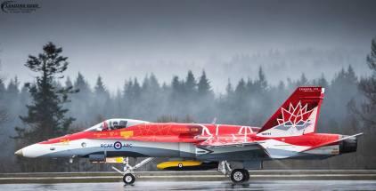 RCAF CF18 Demo Team - Special Color