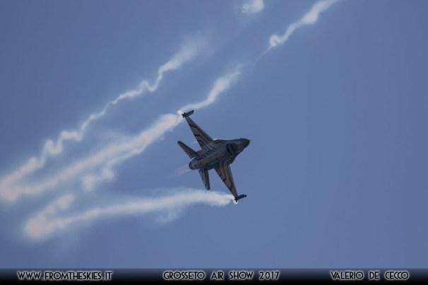 Grosseto Air Show 2017 - F-16 Belgian Air Force