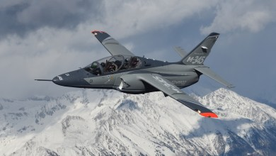 Photo of Il nuovo Aermacchi M-345: foto e video air-to-air